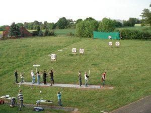 Bogenschießen im Freien